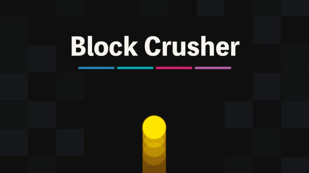 Brock Crusherタイトル画面